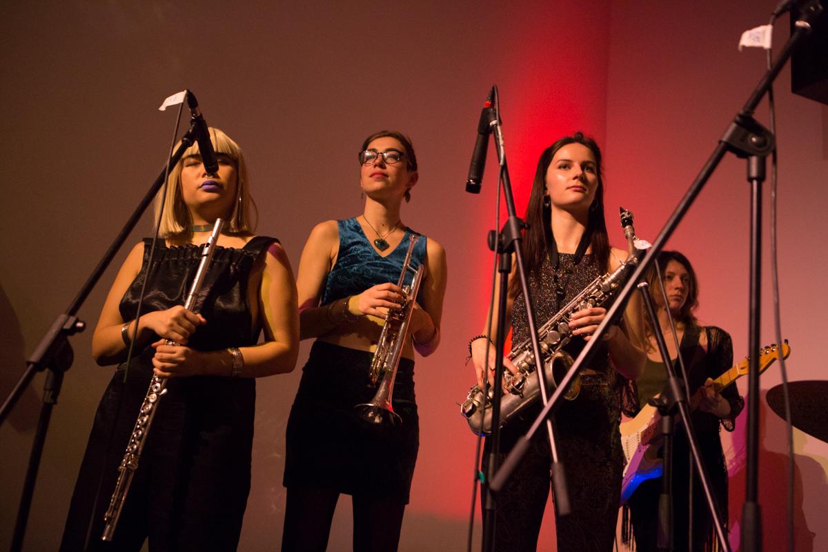 brass section,  photographer Kinga Michalska
