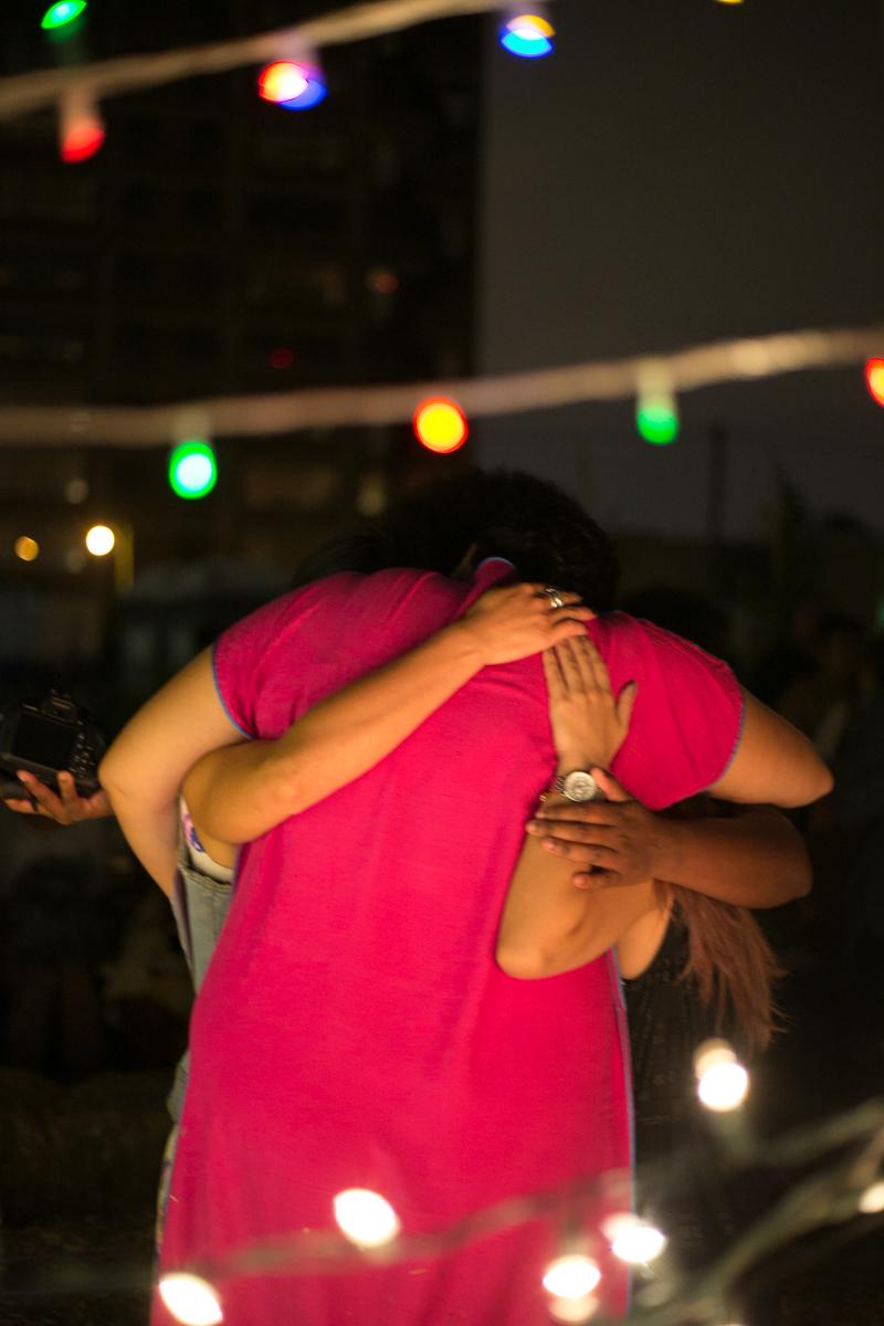 SiM I - Organisers embrace, Photographer: Kinga Michalska